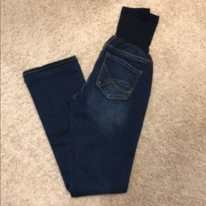 Jessica Simpson Maternity boot cut full panel jean